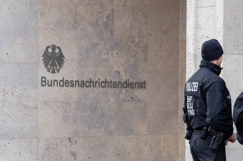 德國智庫學者「克勞斯L」遭德國檢方指為充當中國間諜,如今連妻子也被起訴。據稱克勞斯L也曾替德國聯邦情報局(BND)工作。圖為德國聯邦情報局標誌。(歐新社)
