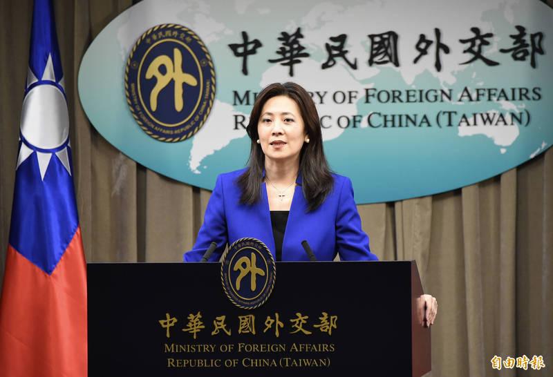 外交部發言人歐江安說,國政府一貫堅持以「和平、對等、民主、對話」的立場處理兩岸關係,但維持台海和平是兩岸的共同責任。(資料照)