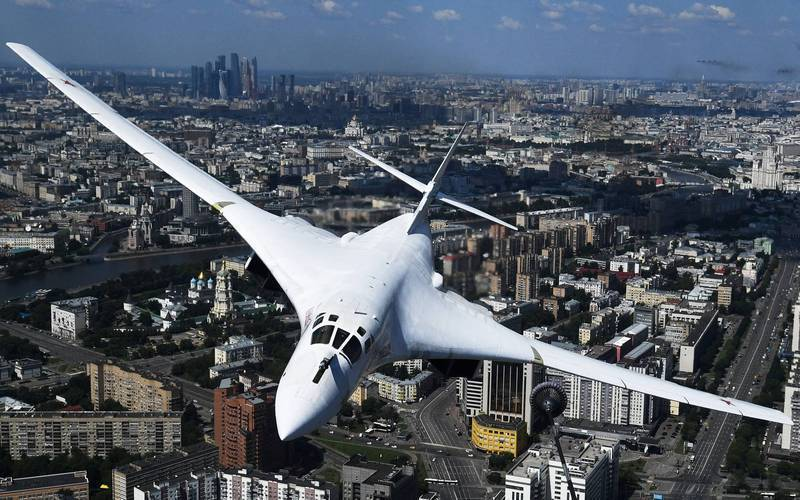 圖為俄國Tu-160轟炸機。(路透)