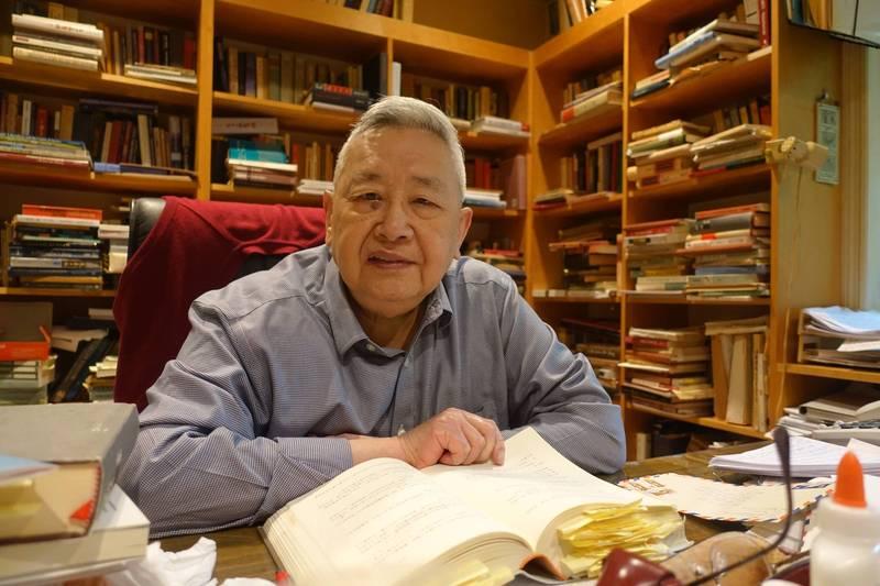 史學泰斗、中研院院士余英時過世,享耆壽91歲。(允晨出版社提供)
