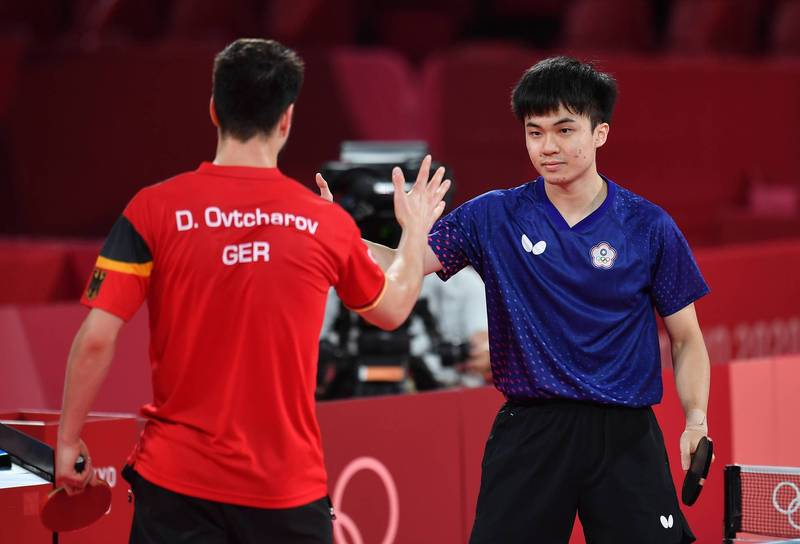 桌球選手「天才少年」林昀儒在奧運一戰成名,成為台灣家喻戶曉的人物。(資料照,特派記者林正堃攝)