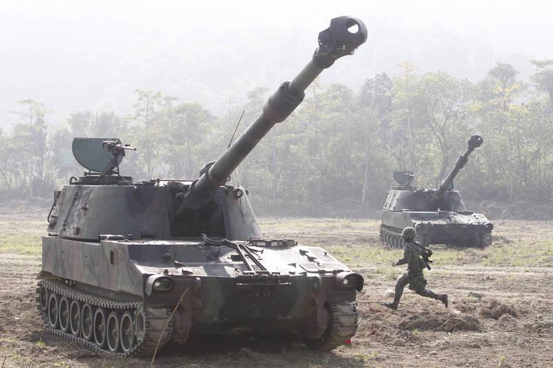 拜登政府同意首筆對台軍售,提升抵禦中國入侵能力。示意圖。(美聯社)