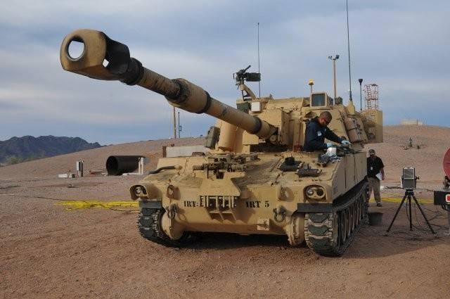 美方宣佈同意出售40輛M109A6自走砲給台灣,也讓台灣砲兵部隊長期以來的自走砲丶牽引砲路線之爭劃下句點。圖為M109A6自走砲(取自美國陸軍網站)