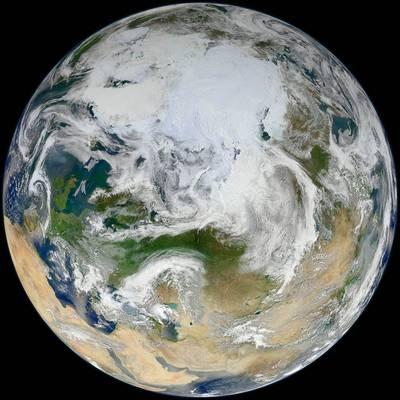德國柏林自由大學新研究發現,大西洋經向翻轉環流(AMOC)瀕臨崩潰邊緣,若它完全停擺,全球有2大洲將因此陷入極度寒冷的狀態。(法新社檔案照)