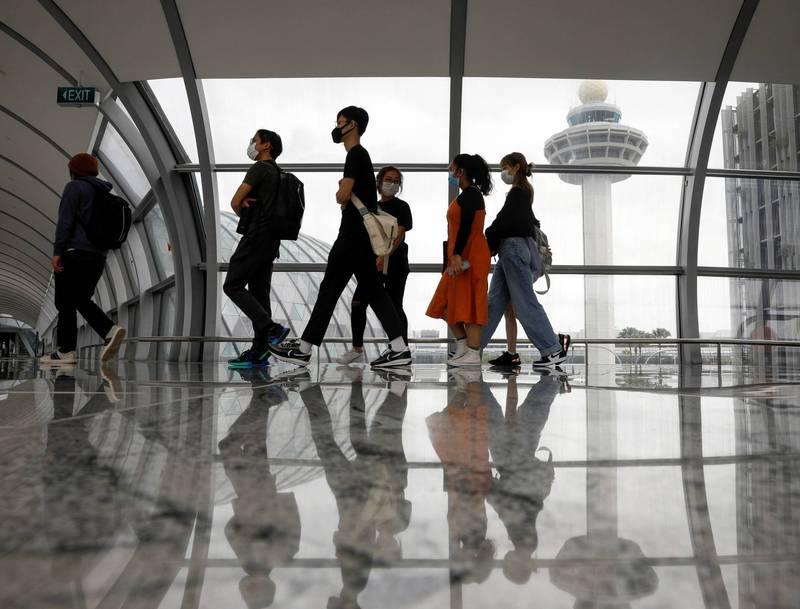 新加坡將鬆綁台灣旅客入境限制。(路透)