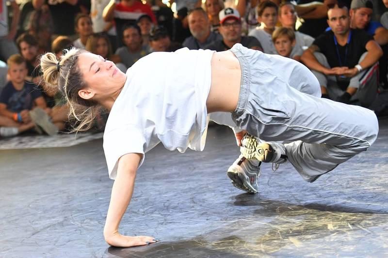 霹靂舞(Break Dance)成為2024年巴黎奧運自選項目。(法新社)