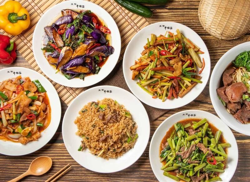 東勢牛稼莊以全牛大餐及客家料理聞名。(牛稼莊提供)