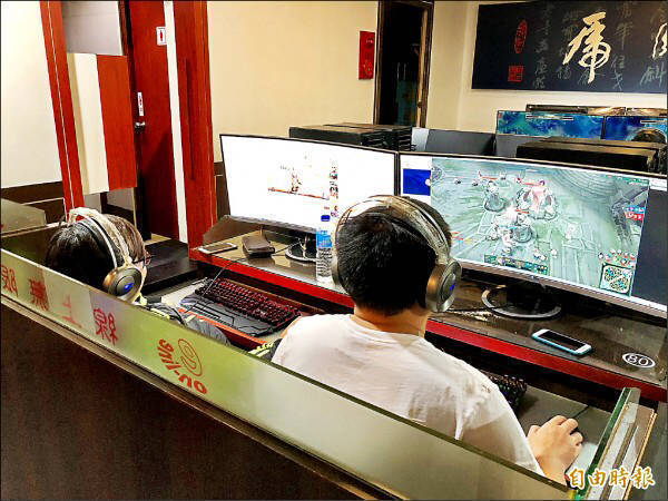近來有一個行政人員職缺,工作內容包含要幫老闆練線上遊戲。示意圖。(資料照)