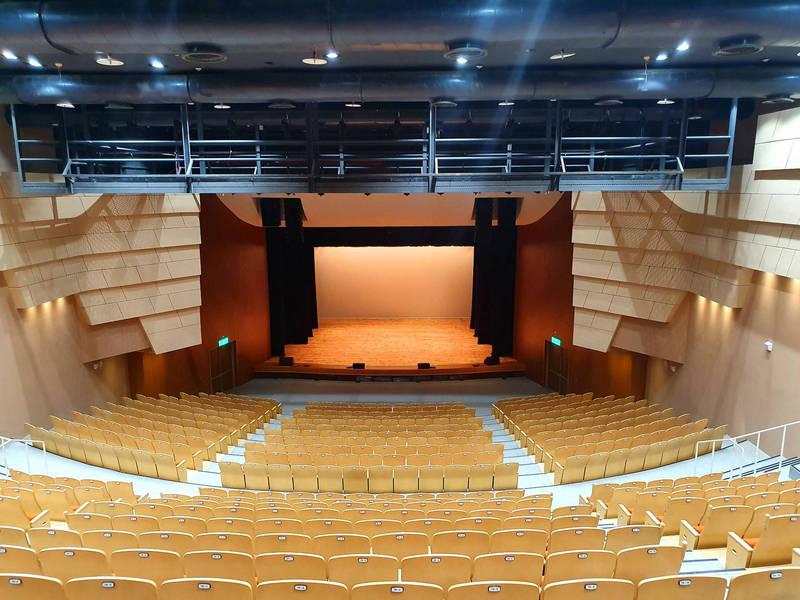 屏東藝術館座位大改造,觀眾視線將無死角。(圖由屏東縣政府文化處提供)
