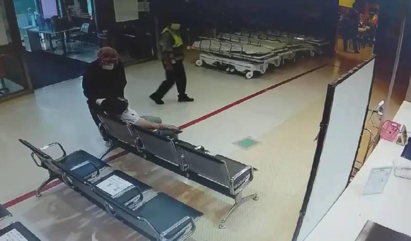 雲林縣發生重大車禍2死,女駕駛受傷送醫。(記者林宜樟翻攝)