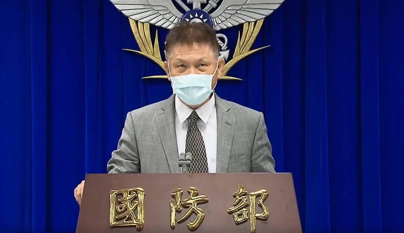 國防部全動室主任韓岡明。(擷取自國防部臉書)