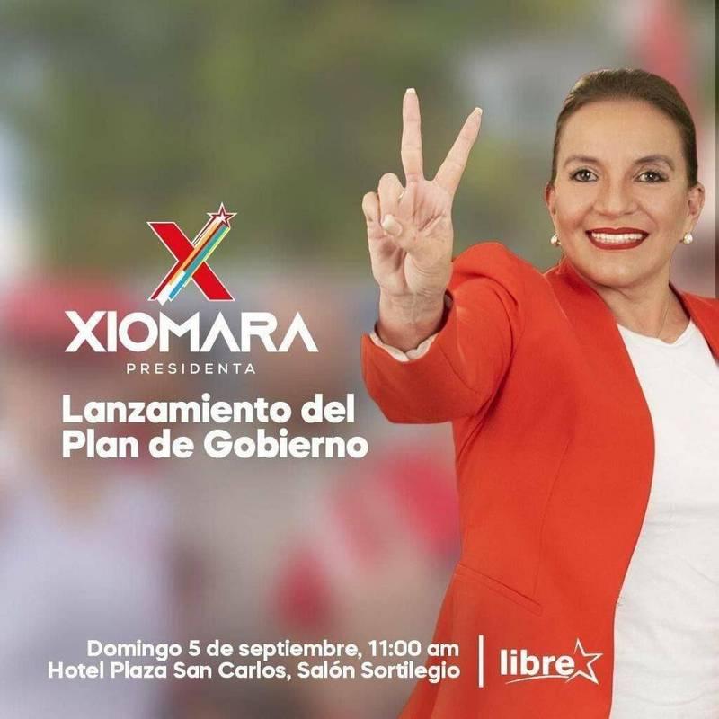 宏都拉斯總統候選人前第一夫人卡斯楚(Xiomara Castro)宣布若當選將與中國建交。(取自卡斯楚推特)