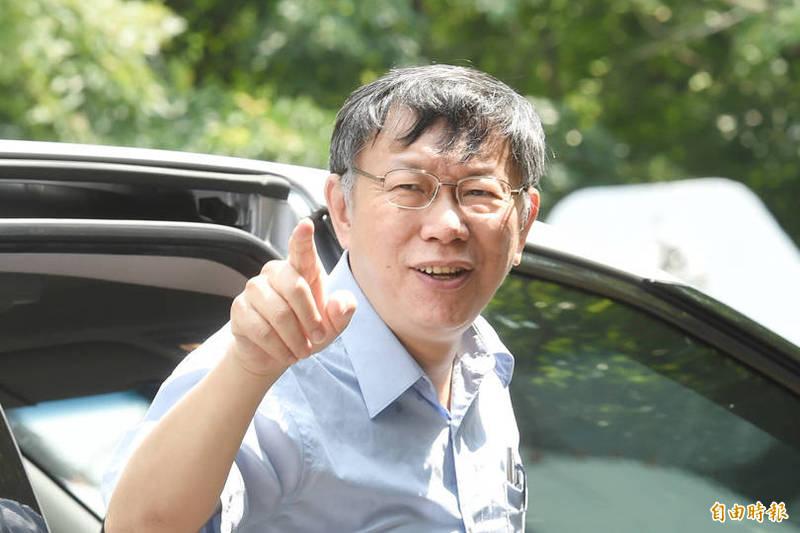 台北市議員苗博雅觀察數據後發現「民眾黨對侯友宜好感比例高過柯文哲」的有趣結果。(資料照,記者方賓照攝)