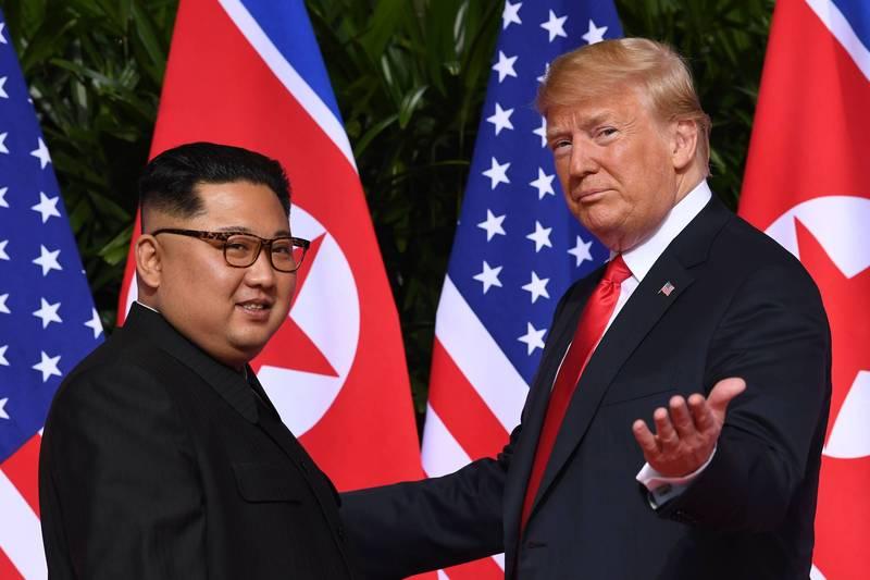 美方公布《2020年恐怖分子資產報告》,明列支援恐怖主義國家去年資產走向,其中北韓被川普政府凍結3169萬美元(約合新台幣8.7億元)的資產。(法新社)