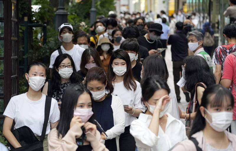 日本首度驗出有感染「Eta變異株」的確診者,從去年12月截至目前為止已有18人染疫。(歐新社)