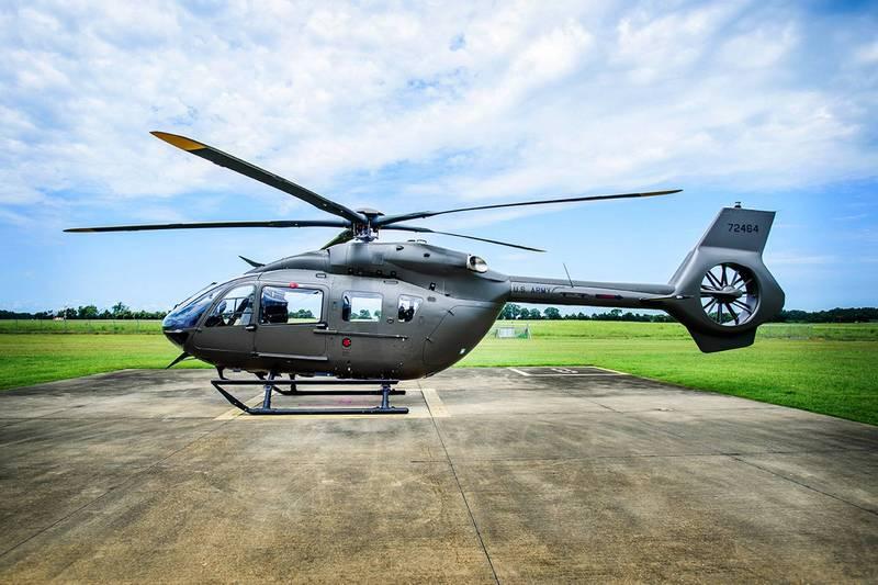 美國陸軍國民警衛隊向空中巴士集團採購18架UH-72B「拉科塔」(Lakota)直升機,後者於7日宣布,首架已交付完畢,國民警衛隊後勤、巡邏以及救災的能力將能有所加強。(翻攝自空巴集團)