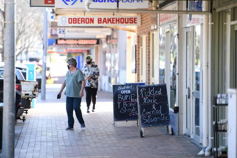 新南威爾斯州仍是疫情重災區,單日新增1542例確診,飆至此波疫情新高點。(歐新社)