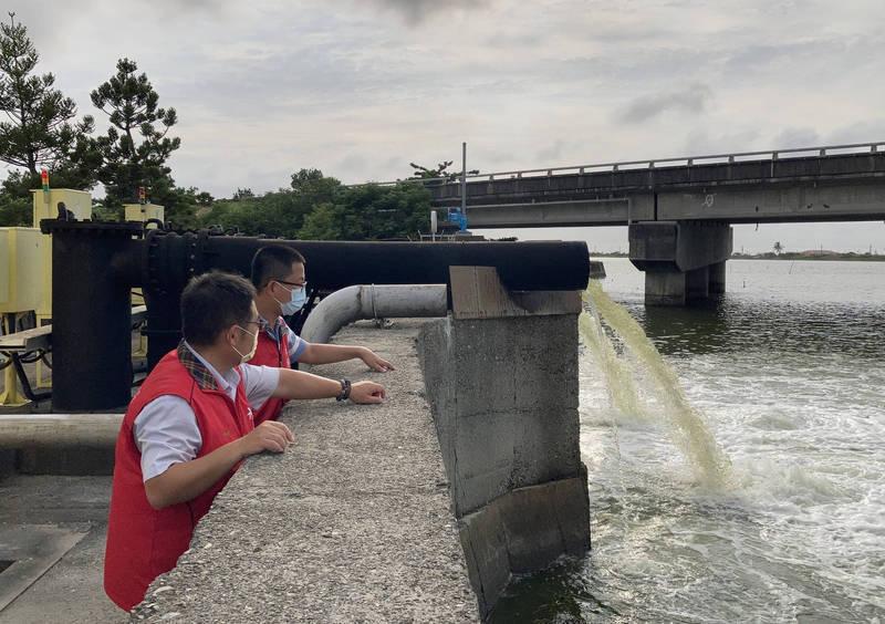 南市持續巡查水情。(水利局提供)