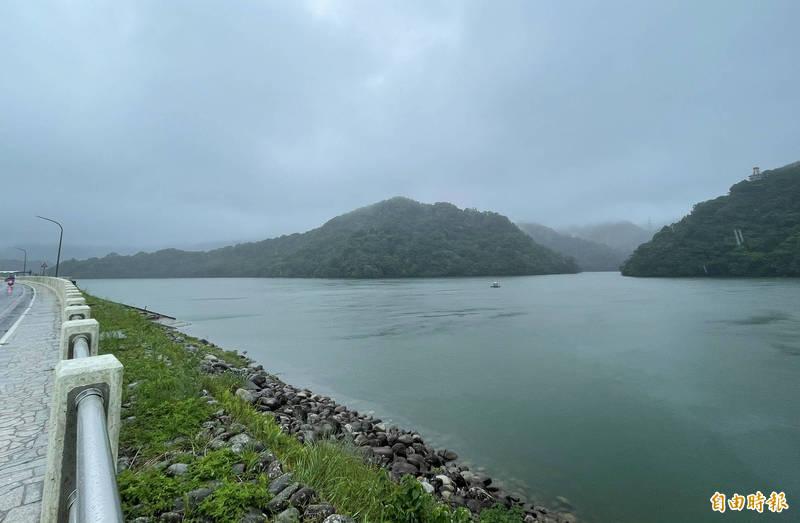 北水局將璨樹颱風視為今年最後一個颱風,儘量把石門水庫蓄滿為原則。(記者李容萍攝)