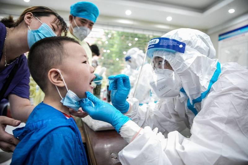 福建莆田Delta狂燃,專家表示,這次疫情規模不會太小。示意圖,非本新聞事件。(法新社)
