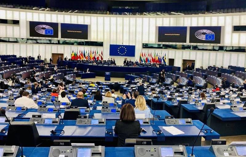 歐洲議會將於本週審議表決呼籲歐盟制定「中國新戰略」的完整報告案。(圖翻攝自Hilde Vautmans推特)