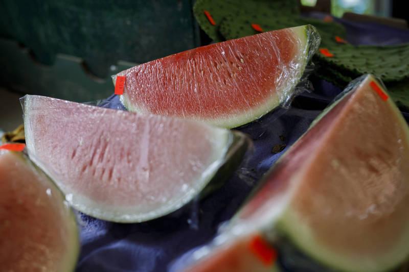 俄羅斯一戶人家吃下超市買回來的西瓜後,造成2死1命危的悲劇。示意圖,與本文無關。(彭博)