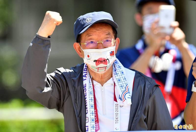 日本再贈我50萬劑AZ疫苗,謝長廷(見圖)感到相當溫暖。(資料照,特派記者林正堃攝)