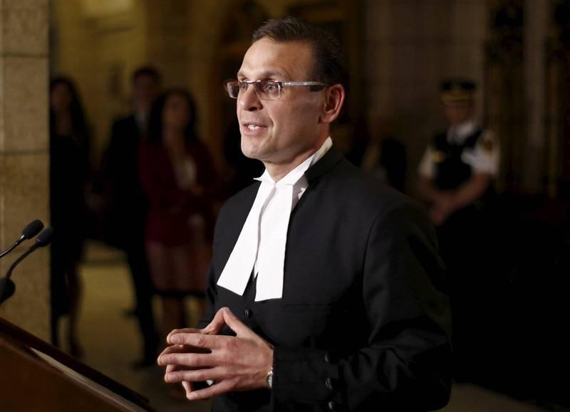加拿大保守黨參議員胡薩科斯(Leo Housakos)(資料照,路透)