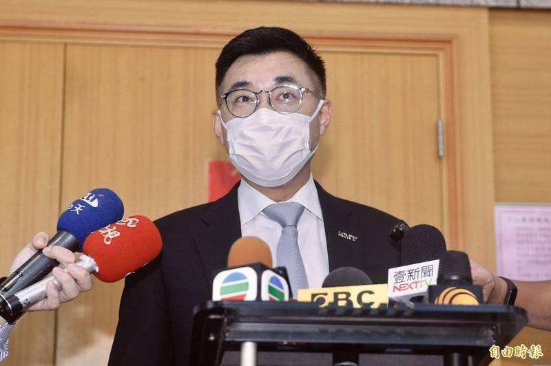 國民黨主席江啟臣。(資料照)