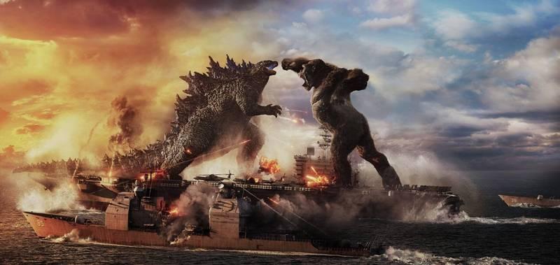 美國政府網頁10日公告美軍「怪獸計畫」,美國《富比士》軍事記者艾克塞表示,這份計畫出現哥吉拉(左)、金剛(右)等怪獸名稱。哥吉拉示意圖。(資料照,華納提供)
