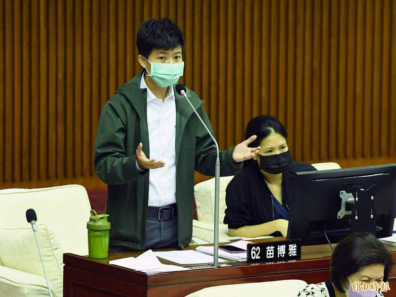 台北市議員苗博雅監督北市孕婦拒篩案,與北市府槓上,她更控北市府黨媒對自己發動人格毀滅戰。(資料照)
