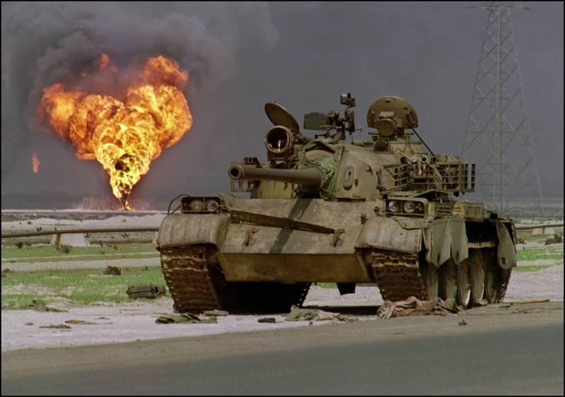 蘇聯製T-62主戰坦克。(法新社)