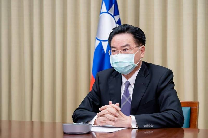 吳釗燮(見圖)14日投書英國《每日電訊報》(The Telegraph),呼籲「聯合國是時候停止將台灣排除在外了」。(外交部提供)