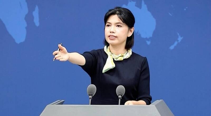 中國國台辦發言人朱鳳蓮今日表示,堅決反對包藏禍心的更名圖謀,世界上只有一個中國,台灣是中國的一部分;民進黨立委駁斥,台灣不是中國一部分。(圖翻攝自直播)