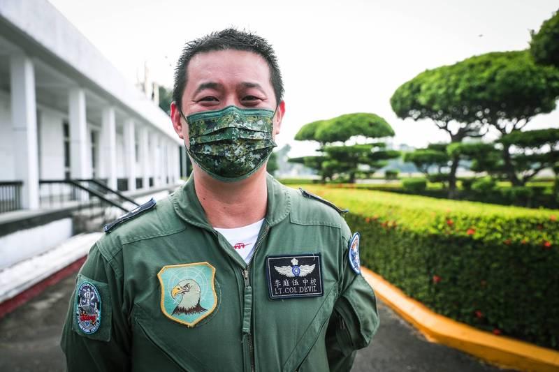 E-2K飛行員李庭伍中校。(軍聞社)