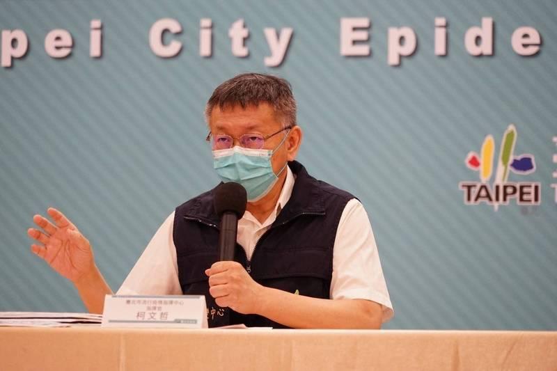 台北市長柯文哲接受媒體人陳文茜專訪談及2024年總統大選,稱副總統賴清德個性有正派之處,但不敢反抗現在政策,然而沒做事情「反而容易養望」。(資料照,台北市政府提供)