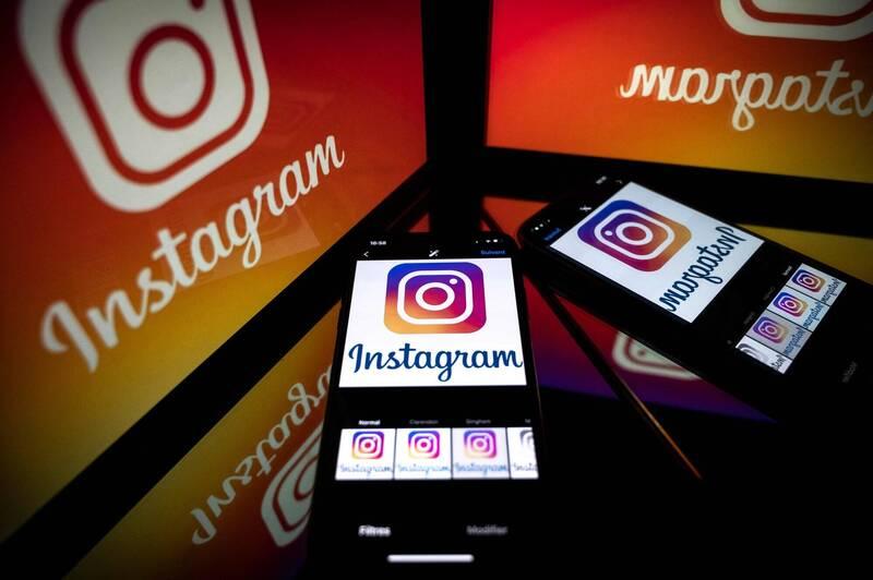 美國媒體披露IG母公司「臉書」(Facebook)內部文件,臉書公司至少早在2年前的內部研究,就知道IG帶來的過於在意身體形象的問題,有害青少女心理健康,對外卻仍宣稱有正面影響。。(法新社)