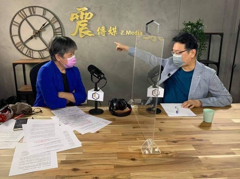 中廣董事長趙少康強調自己最適合當總統,更稱「反共」不等於「反中」,何必跟對岸14億人為敵,要讓14億人都覺得台灣人友善,會比編列數千億國防預算要更好。(震傳媒提供)
