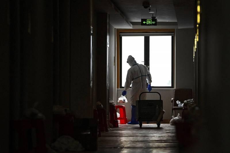 日本東京都昨(14)日出現首例入住防疫旅館療養的武肺(新型冠狀病毒,COVID-19)確診者死亡。防疫旅館示意圖。(美聯社)