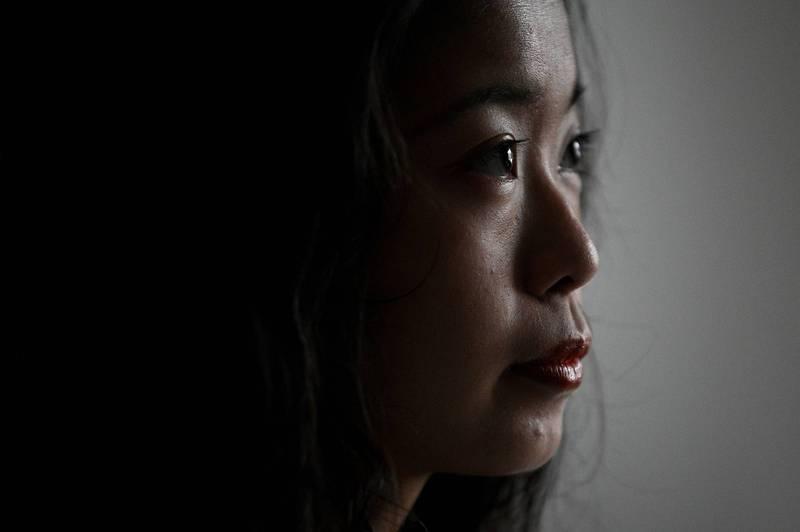 「弦子」(筆名)指控央視前主持人朱軍性騷擾的案子,備受國際矚目,外媒將之視為中國版「#MeToo」運動的指標性案件。(法新社)