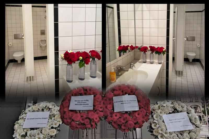 花圈回收再利用「裝飾廁所」 謝志偉反將朱學恒一軍