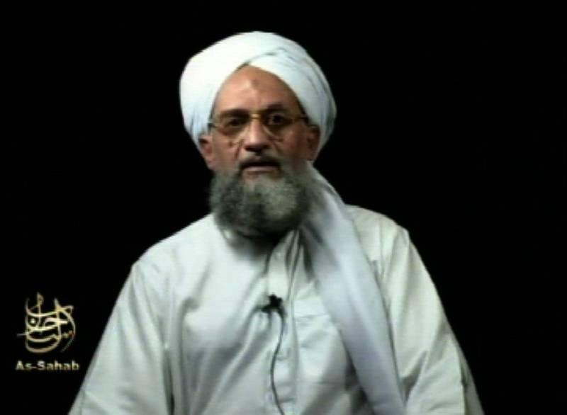 圖為開打組織現任領導人薩瓦里(Ayman al-Zawahri)。(美聯社)