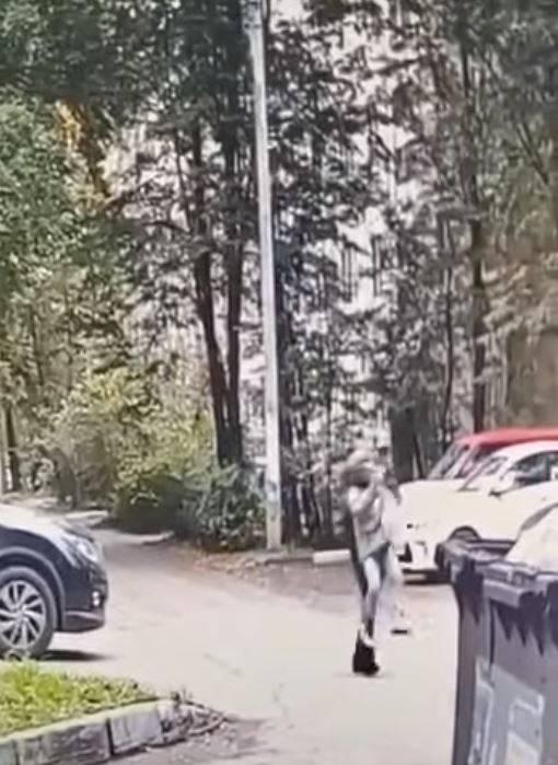 一名9歲女孩走在街上,遭38歲遊民從背後強擄,意圖拖進樹叢性侵。(翻攝youtube影片)