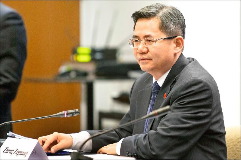 英國會 禁止中國大使進入