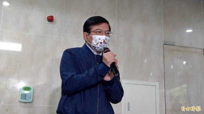高鐵延伸宜蘭站址遲未定案,王國材將於9月25日赴宜蘭辦說明會與民眾溝通。(記者鄭瑋奇攝)