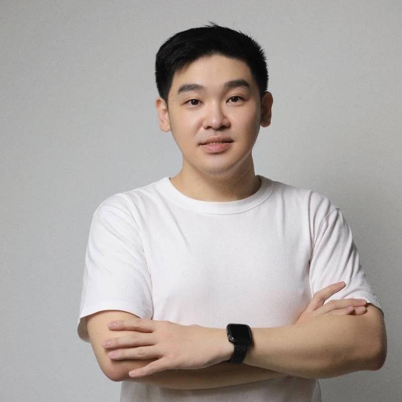 李昶志想問4位黨主席候選人,2024願意受邀擔任副手嗎?(記者王榮祥翻攝)