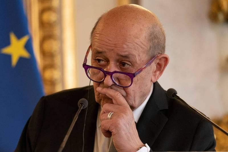 法國外交部長勒德里昂(見圖)批評,美國宣布幫助澳洲建立核動力潛艦部隊的行為,如同是暗算法國。(路透資料照)
