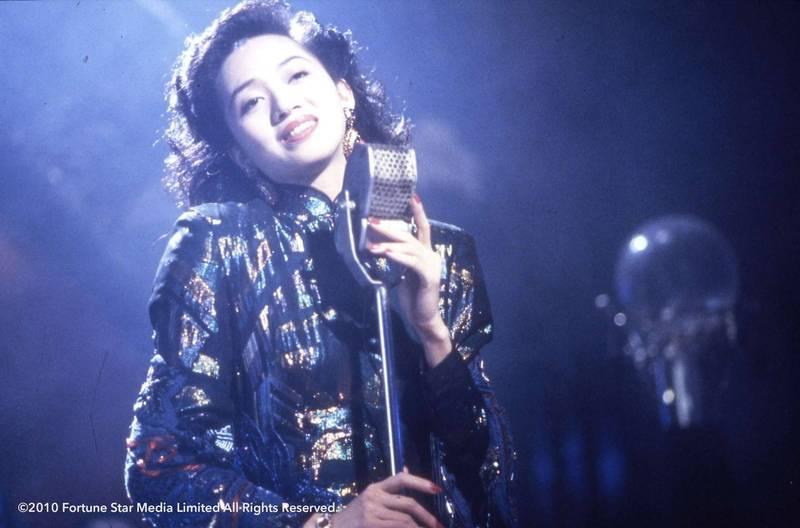 身兼影后、歌后的「香港女兒」梅艷芳已去世17年,如今不少藝人爭先恐後到中國「舔共」撈錢,有觀眾好奇,如果她還在世會如何表態?圖為梅艷芳《何日君再來》劇照。(高雄電影館提供)