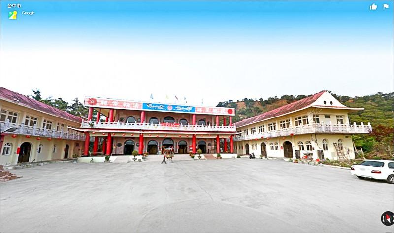 李貴富自稱「法王宗主」,是「忘憂谷觀音禪寺」住持。 (取自Google Map街景圖,記者張瑞楨翻攝)