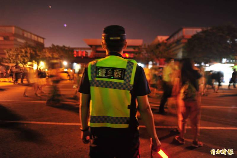 台南市警局傳出警員酒駕,警長方仰寧震怒,連坐懲處3層官警。(資料照,記者王捷攝)